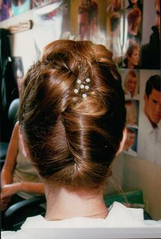 French twist updo (Wedding)