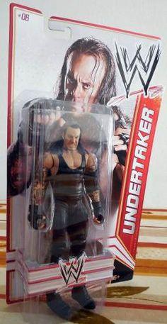 WWE Undertaker Figura de Acción Básica Figura de acción articulada De Mattel /WWE Basic Action Figures Serie 13 .