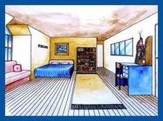 Bildergebnis für one point perspective bedrooms