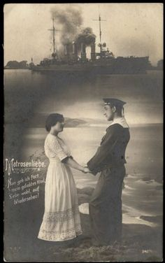 This is sort of how I imagine Zsigmond and his bride Anna Terk. The ship is similar to ones that would have been in port in Pola at the time they met. But I am fairly certain that Zsigmond would have been sporting a bushy Hungarian moustache. Moustache, Hungary, Croatia, Austria, Anna, Ship, Bride, Wedding Bride, Mustache