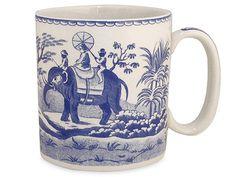 Spode - Blue Room Indian Sporting Mug   Peter's of Kensington