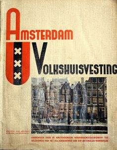 Emmy Andriesse Amsterdam Volkshuisvesting 1938 Amsterdamsche School Architecture Company Photography