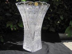 Vase of lead crystal