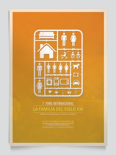 Social Posters by Osh Grassi, via Behance