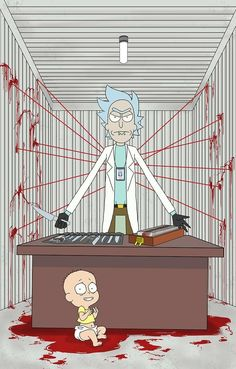 Rick and Morty x Dexter
