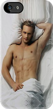 Sexy True Blood Vampire Eric Northman - Apple iPhone 5, iphone 4 4s, iPhone 3Gs, iPod Touch 4g case, Available for T-Shirt man and woman