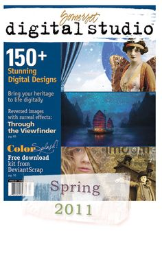 My friend Jana Morton's digital scrapbook pages are featured in this magazine.