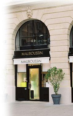 Boutique Mauboussin place Vendôme- best place to shop for jewelry in Paris.