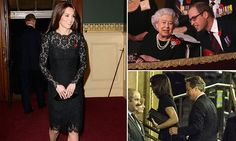 Queen leads Festival of Remembrance at Albert Hall