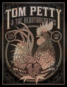 Tom Petty Poster by DKNG