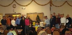 Chief Petty Officers Association of Pittsburgh and McKeesport donated a slew of food and totes