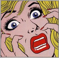 Scared Pop Art Comic Book Lady Photo: This Photo was uploaded by sweetie259pie. Find other Scared Pop Art Comic Book Lady pictures and photos or upload ...
