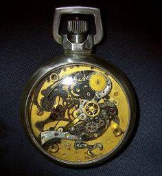 Sue Beatrice artist - pocket watch art - steam punk