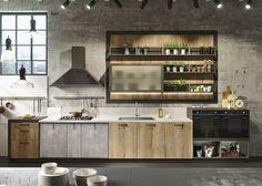 Quem pensa que o cinza é uma cor monótona para a decoração de uma cozinha, vai se surpreender com as 18 ideias espectaculares abaixo e te...