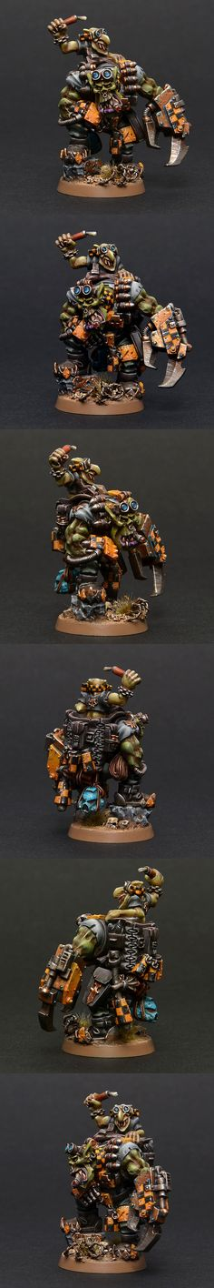 Bad Moonz Ork Kommandos Nob
