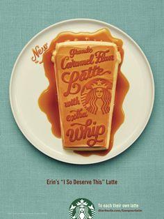 Starbucks joue sur l'aspect unique de ses commandes dans cette nouvelle campagne de publicité.