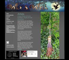 Wick & Witch website