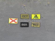 MSE Mark Forester CCT Combat Controller Patches  #bpre #actionfigures #msegru #blackopstoys