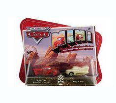 Disney Pixar Cars Mini Adventures Sarge'S Boot Camp 2 Pack Ramone & Flo