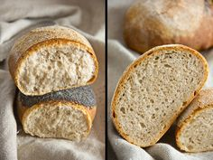 Weizen-Dinkel-Brot (wheat spelt bread)
