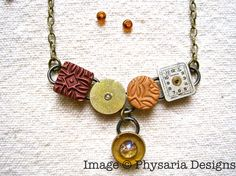 Upcycled Watch Parts Necklace