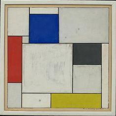 Theo van Doesburg - Composition decentralise #doesburg #theovandoesburg #destijl #guggenheim #museum #art