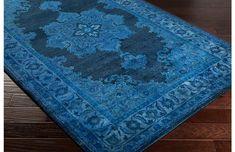 Antwerp rug neutral/blue, 1799, 8x11, One Kings Lane