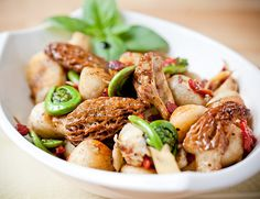 ... Morels on Pinterest | Mushrooms, Morel Mushroom Recipes and Asparagus