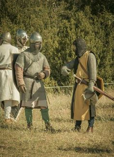 Training day. Knights XIII th century. Spain.