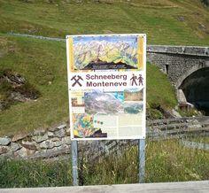 Wanderziel: Erlebnisbergwerk Schneeberg, auf 2355 m hoch im Passeiertal