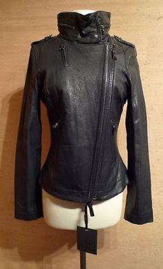 The collar on this jacket makes me waaaaaaaaaaant it....Mackage motorcycle jacket