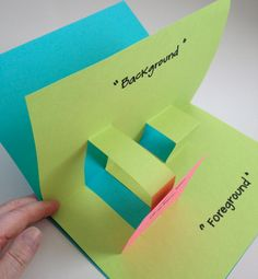 Make an end of year pop up book where each student can put different positive ideas about the school year.