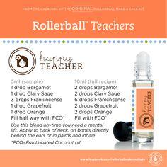 Calm Teacher & Happy Teacher Gift labels #RollerballTeacher…