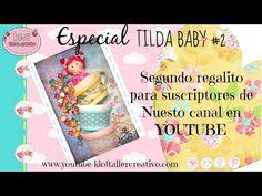 KLOF -Cuadro Decorativo Tilda Baby - YouTube