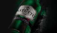 Branding and Packaging by Kreative Studio Agency. Design and Advertising Campaign Product. Bottle shape, logo and label design. Advertising Campaign, Creative Studio, Label Design, Beer Bottle, The Past, Packaging, Branding, Shape, Logo