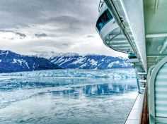 Cruises to Alaska—icebergs, penguins, the Aurora Borealis. Popular ports of call include Skagway, Ketchikan.  Glacier Bay National Park -Margerie Glacier. It's the most popular in Glacier Bay, and one of the toughest: While other glaciers in the park are starting to recede, Margerie remains unchecked by climate change. —Jayna Maleri