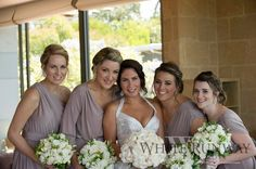Rhiannon and Mark tied the knot on 20 December 2014. Rhiannon chose different Pia Gladys Perey styles for each of her bridesmaids. The girls looked gorgeous in our Sienna, Regina, Ingrid and Allana Dress.