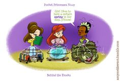 Pocket Princesses 27: Behind the Frocks. I LOVE this one! :)