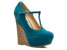 Dollhouse Trip T-strap Wedge Pump Pumps & Heels Women's Shoes - DSW