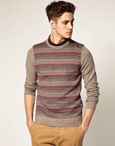 River Island Lightweight Fairisle Sweater