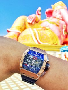 Richard Mille RM011 Rose Gold at The Pink Ganesh in Thailand