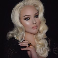 When your foundation game is on point  @nikkietutorials using Infallible Pro Matte Foundation by lorealmakeup