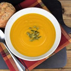Ginger Spiced Pumpkin Soup – Cook2eatwell