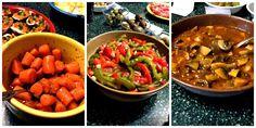 Vegetarian Spanish Sides: Marinated Carrots, Marinated Mushrooms, Cadiz Pepper Salad #vegetarian #spanish