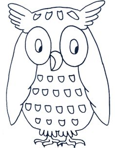 Printable Coloring Pages of Owl Animal Owl Coloring Pages, Printable Coloring Pages, Coloring Pages For Kids, Coloring Books, Kids Coloring, Owl Theme Classroom, Owl Quilts, Owl Templates, Owl Cartoon