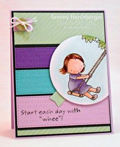 Whee! - DTGD14OneHappyStamper by stampertammy - Cards and Paper Crafts at…