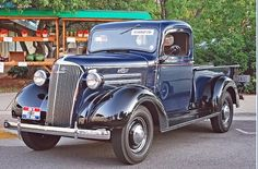 Chevy pick up truck 1937.