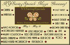NYSavingSpecials Mega Giveaway Total Prize Value of over $1600 Ends May 22 2014