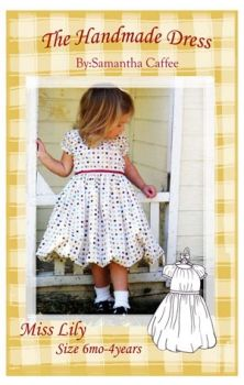 The Handmade Dress sewing pattern page