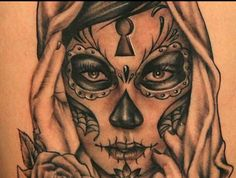day of the dead tattoos 23